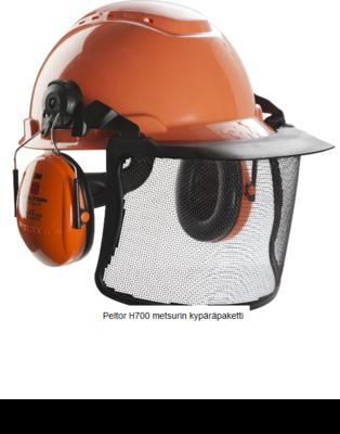 Peltor H700 metsurin kypäräpaketti