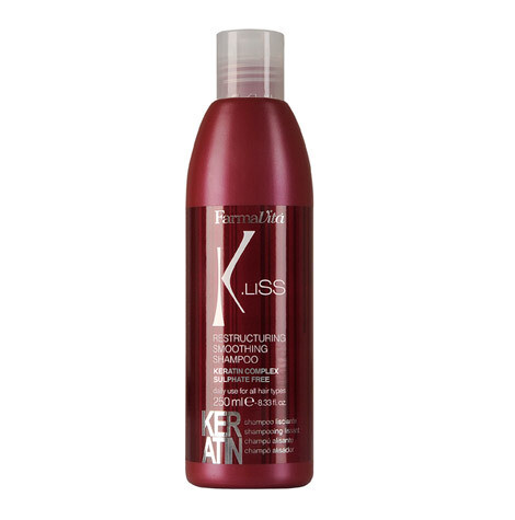 K.LISS Реструктуризирующий шампунь с кератином SMOOTHING KERATIN SHAMPOO