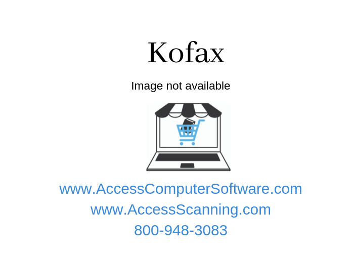 Kofax Express Production Licenses (REQUIRES SUPPORT CONTRACT MDS)