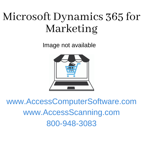 Microsoft Dynamics 365 for Marketing 1 license