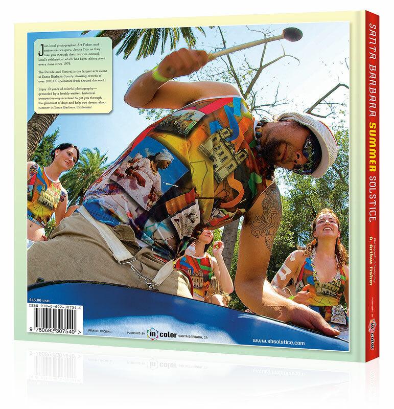 Santa Barbara Summer Solstice Coffee Table Book