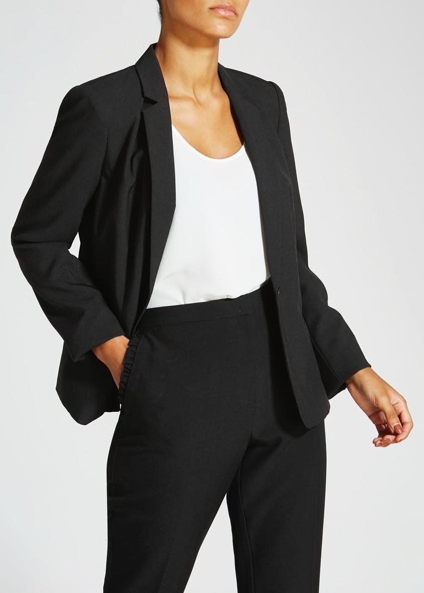 Black Matalan Suit Jacket