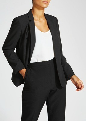Black Matalan Suit Jacket