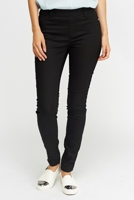 Black Fitted Jeggings