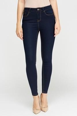 Blue Denim Skinny Jeans Newlook