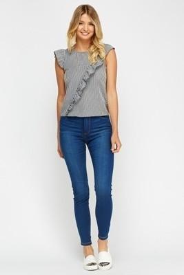 Blue Skinny Fit Jeans 72D