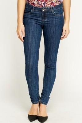 Denim Trekker Blue Fitted Jeans