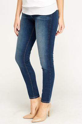 Ladies zara woman jeans mid blue