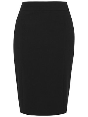 Black fitted skirt -George
