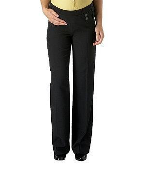 Maternity 28 in button smart trousers