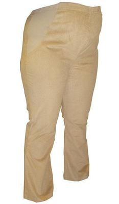 Over bump corduroy maternity trousers