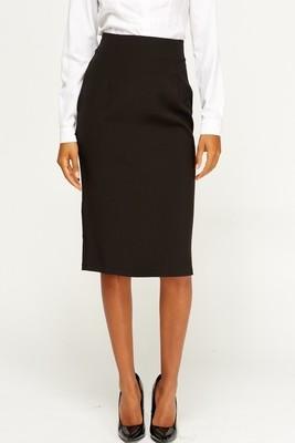 Black Suit Skirt Papaya