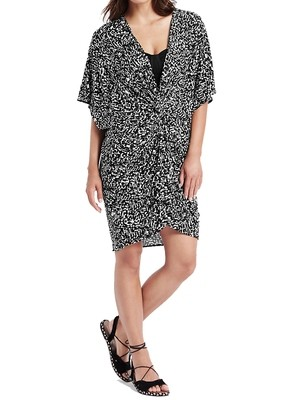 Amalfi Print Knot Front Kaftan by M&S Collection
