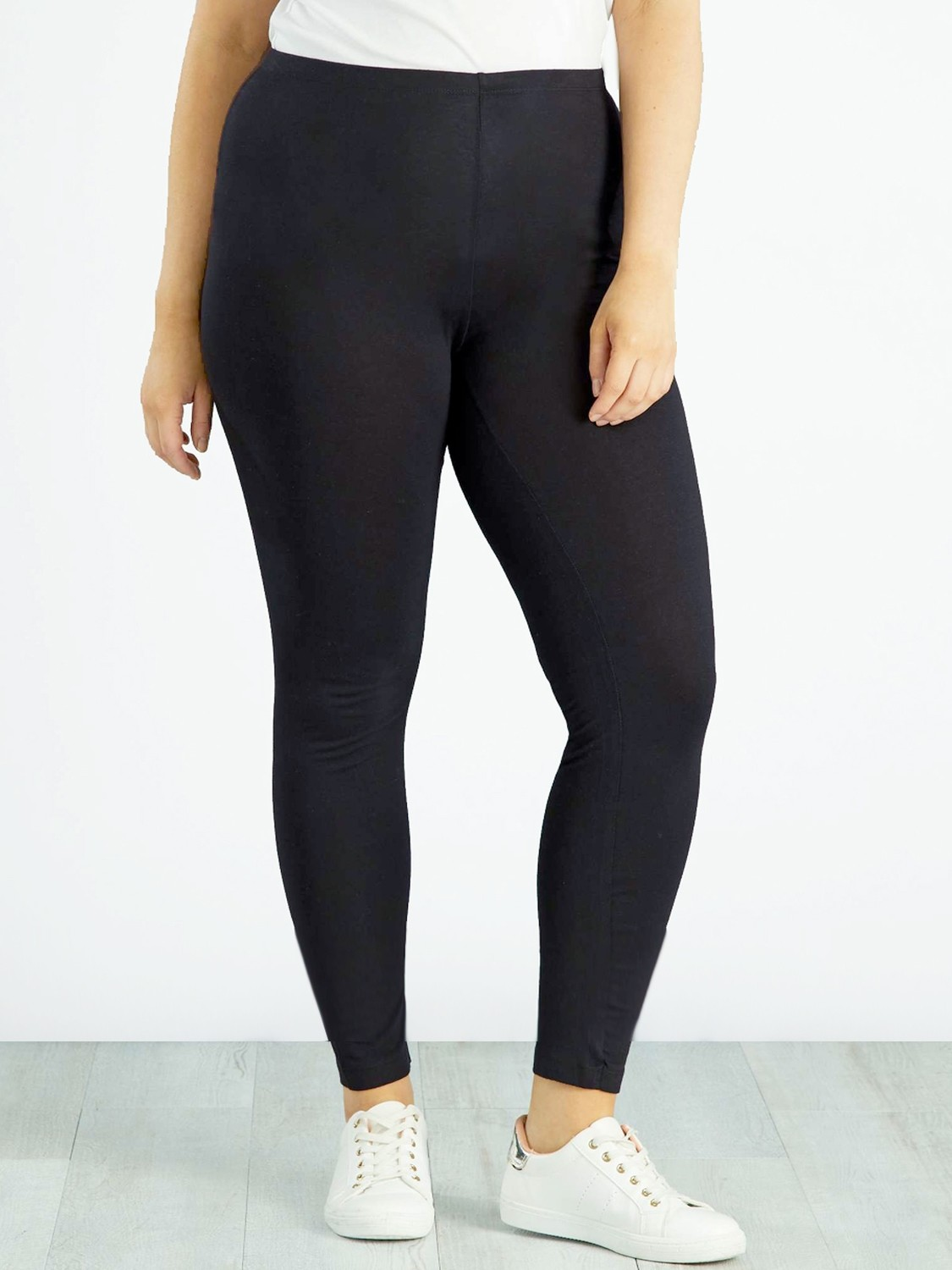 Cotton Rich Full Length Leggings