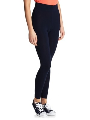 Dunnes NAVY Pull On Jersey Leggings