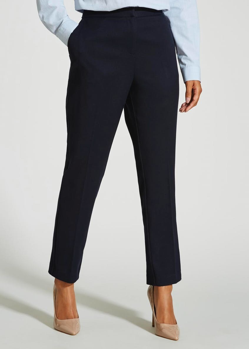 Slim Fit Suit Navy Trousers (31 Inch Leg)