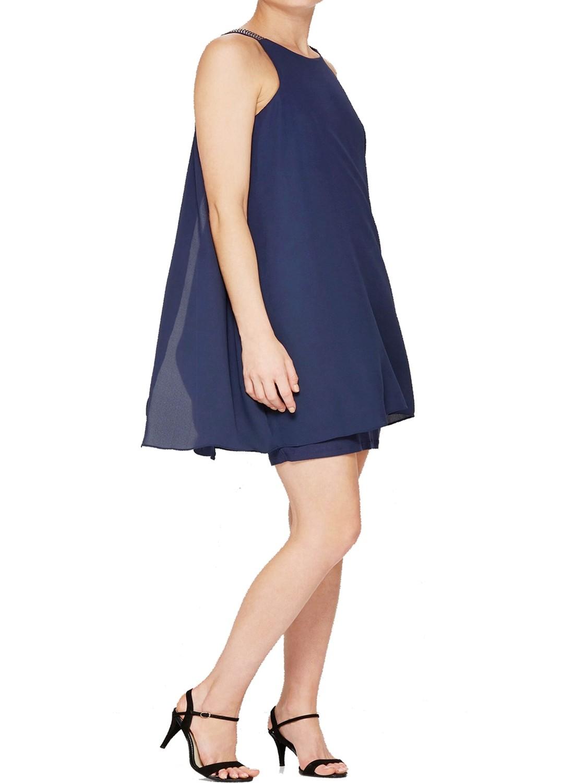 Jewel Strap Swing Dress