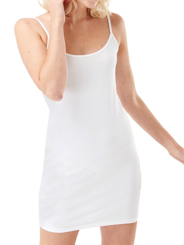 Cotton Rich Longline Cami White by NEXT