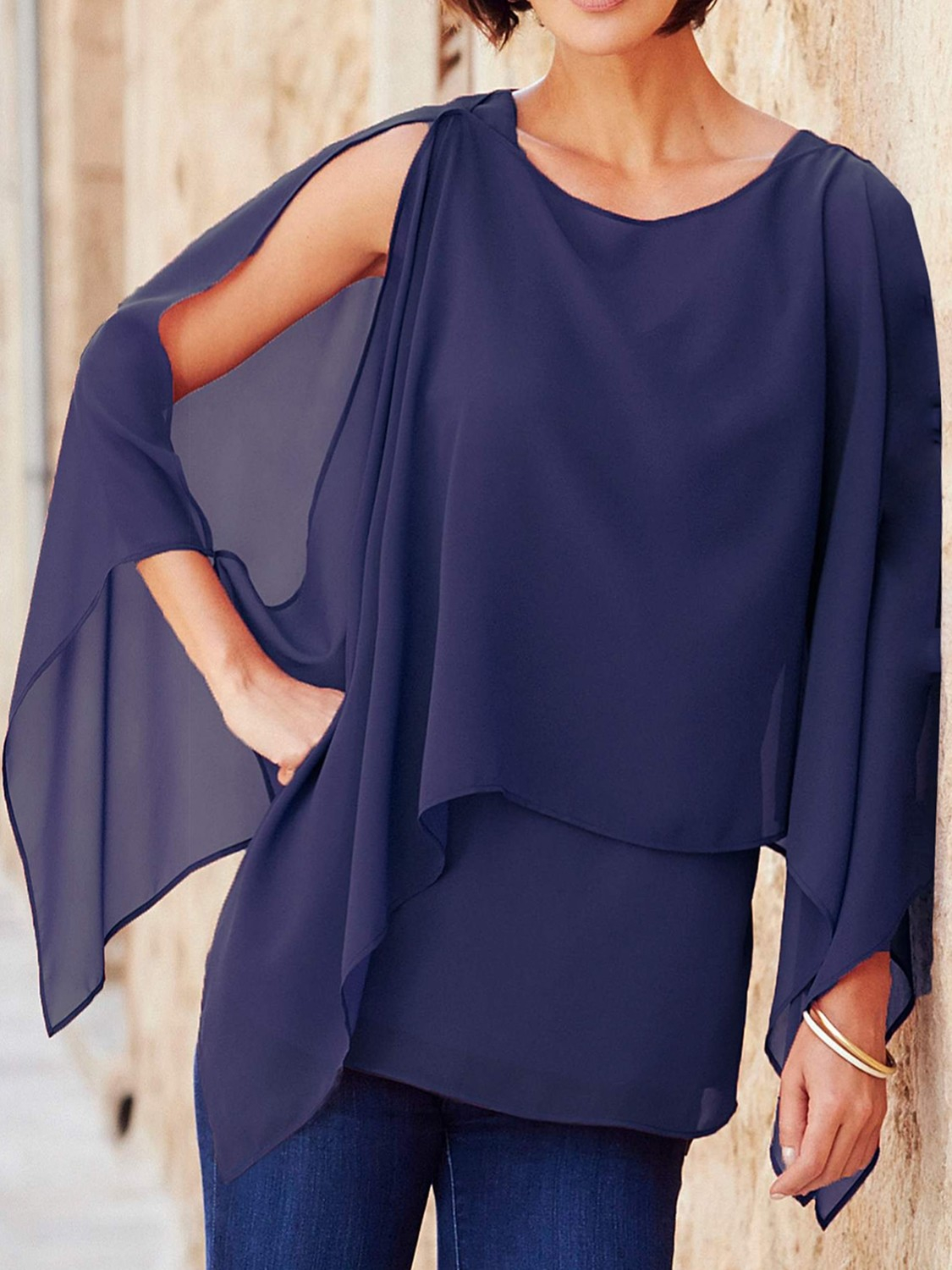 Double Layer Blouse by Joanna Hope