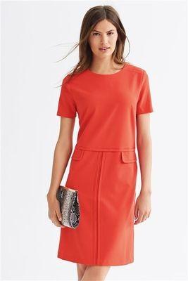 Workwear Dress Coral Next