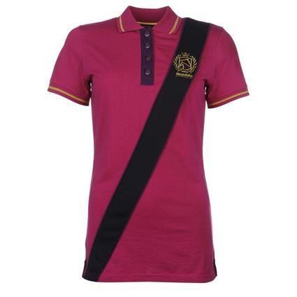 Requisite Sash Polo Shirt Ladies Pink
