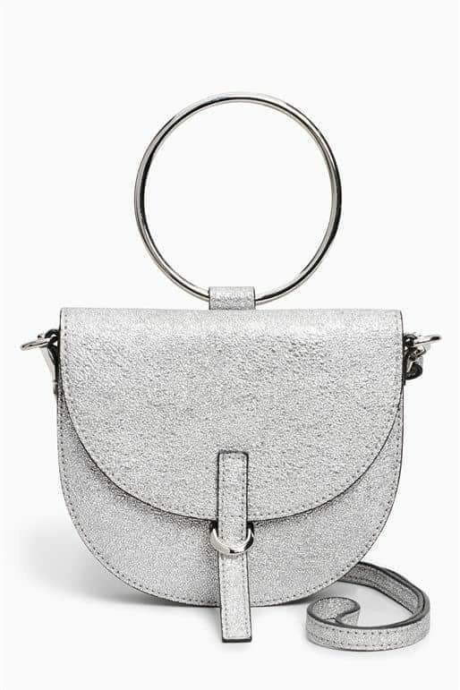 Next Metallic Ring Bag