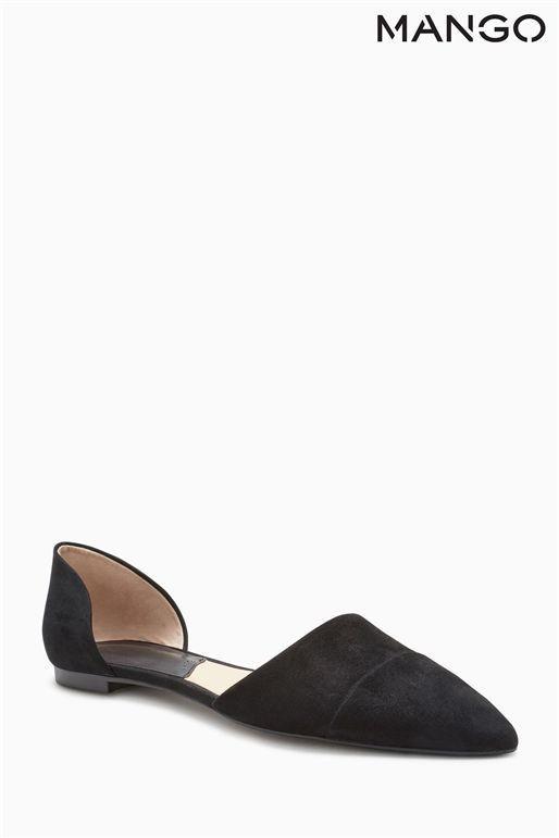 Mango Black Shoes