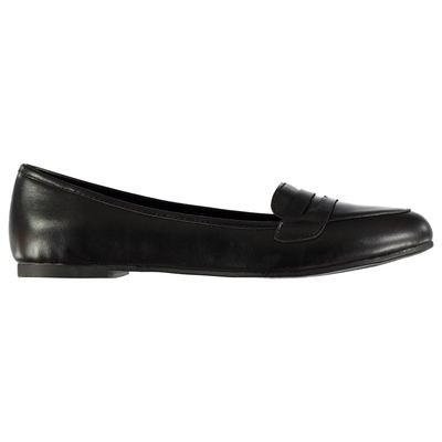Miso Tina Ladies Flat Shoes Black