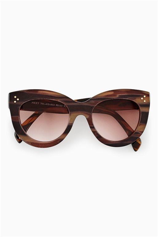 Brown Chunky Sunglasses