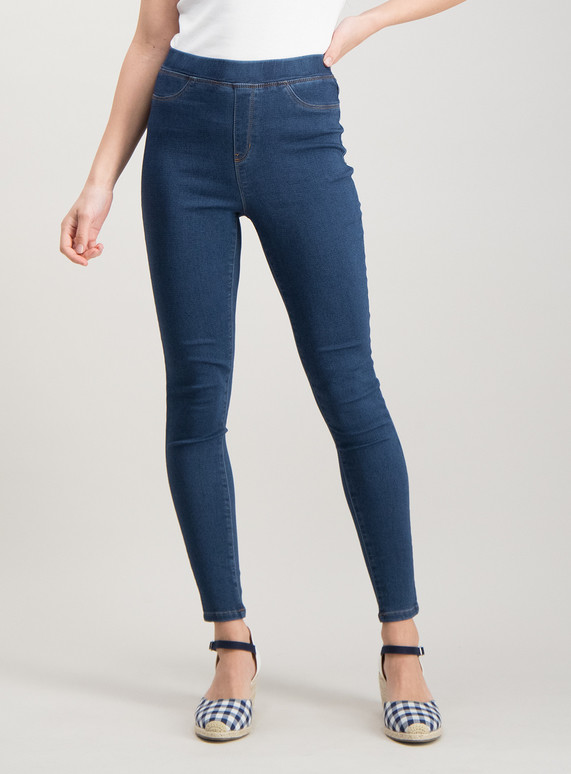 Comfort stretch jeggings blue