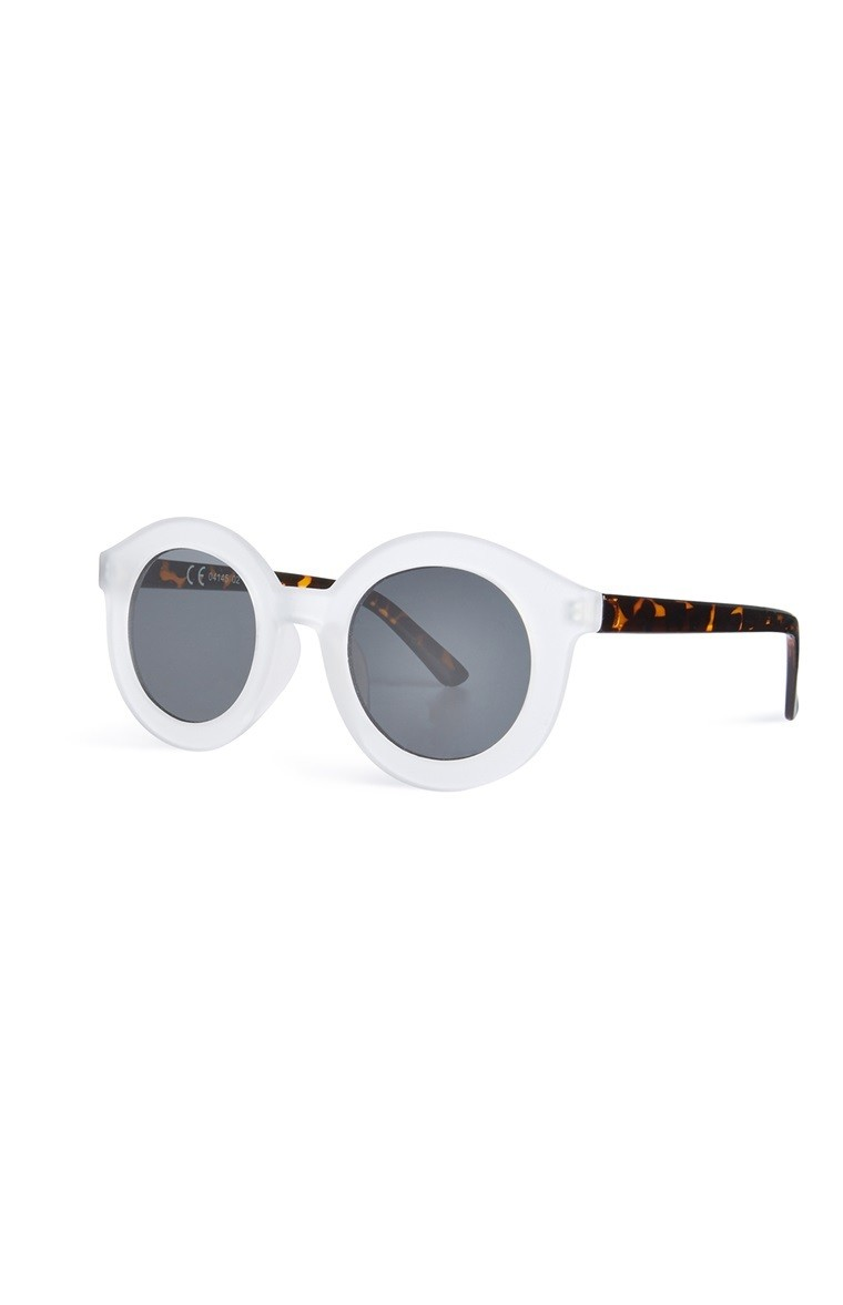 Framed Sunglasses Clear