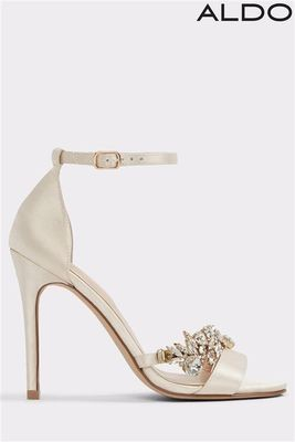 Aldo Barely There Embellished Sandals
