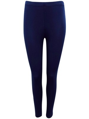 BLUE Full Length Jersey Leggings