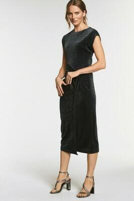 Sparkle Jersey Twist Dress