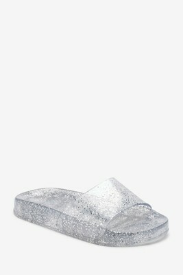 Jelly sliders silver
