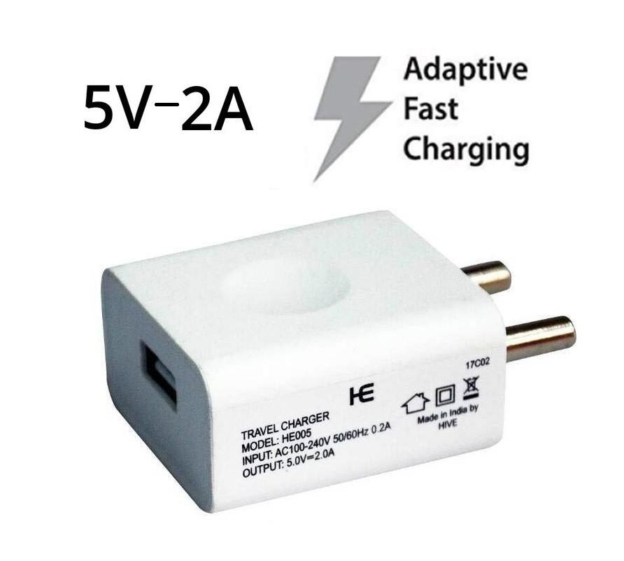 74f89a4dfa9 Original ML8M2HN A 5W USB Power Adapter (White)