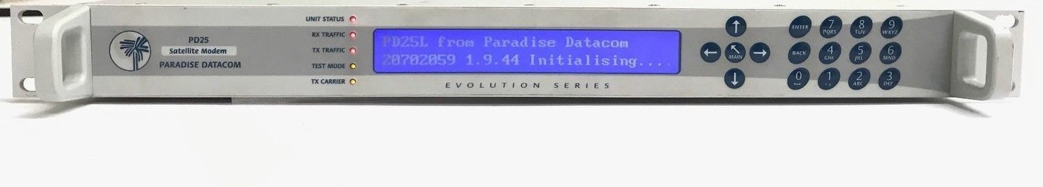 Paradise Datacom L-band Satellite Modem Evolution-series PD25L