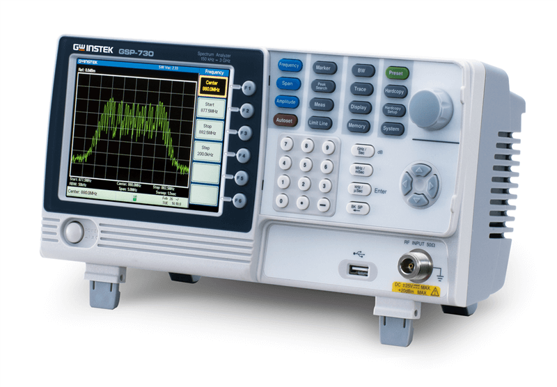 GW Instek GSP-730 Spectrum Analyzer 150KHz - 3GHz