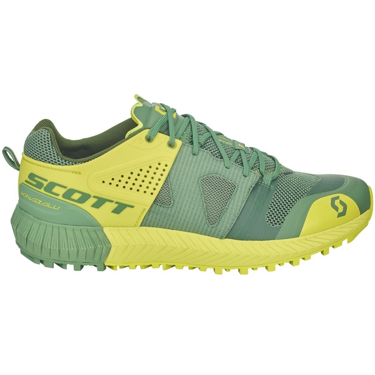 Scott Kinabalu Power heren green/yellow