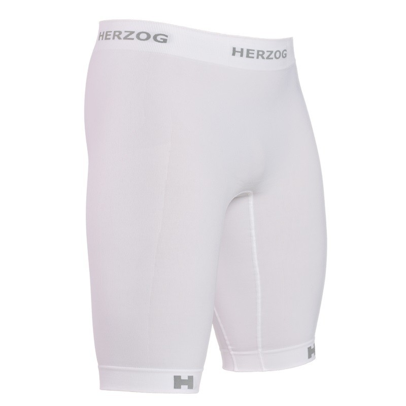 Herzog Pro Compressie short wit