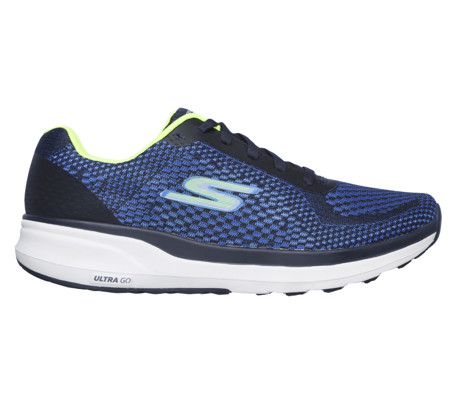 Skechers GOrun Pure heren blue/lime