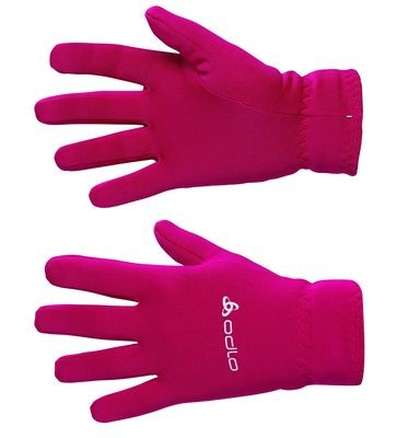 Odlo Fleece Gloves rood