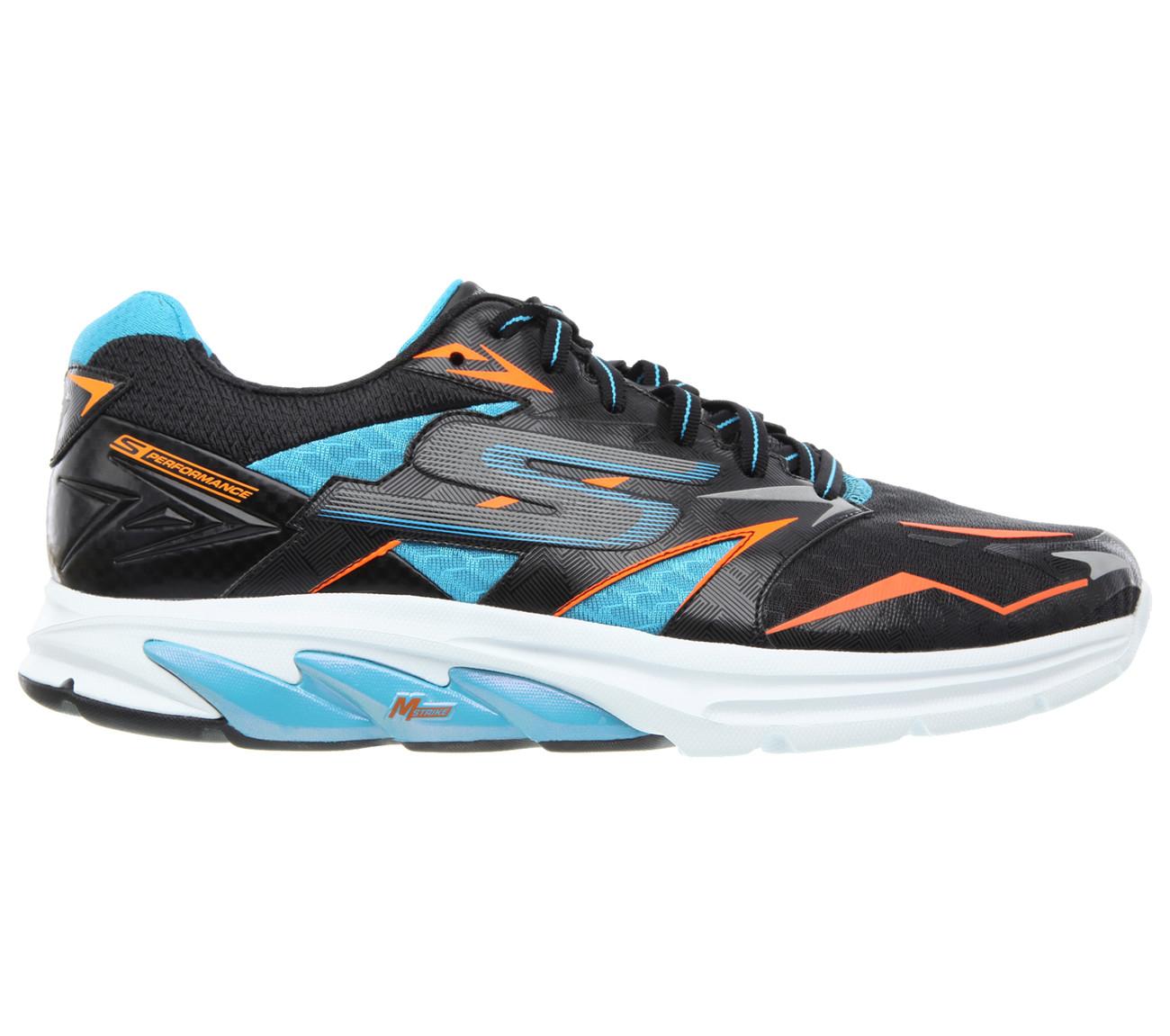 Skechers GORUN Strada heren black/blue