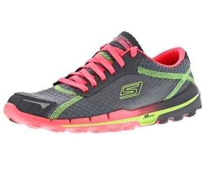 Skechers GORUN 2 dames grey/pink