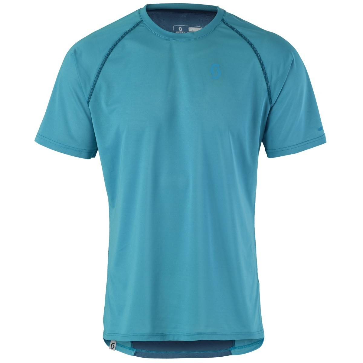 Scott t-shirt Aero s/s heren blue