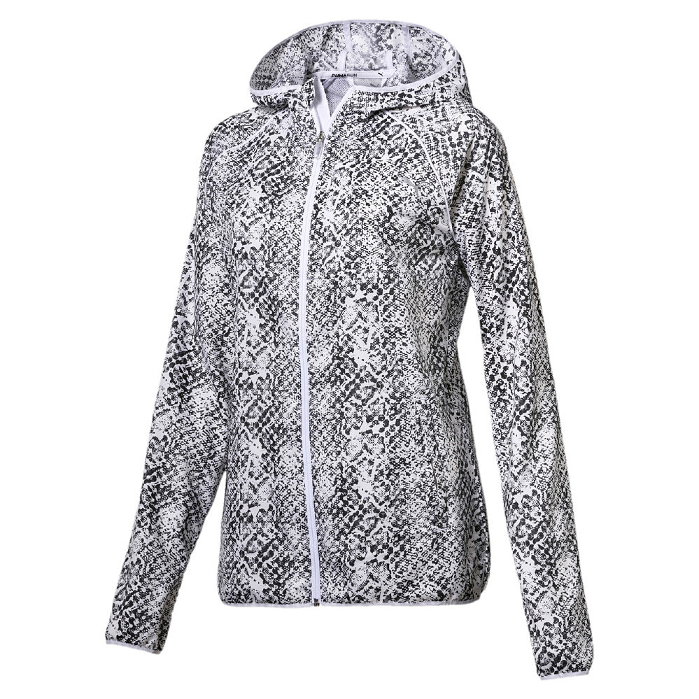 Puma Graphic Jacket dames zwart/wit