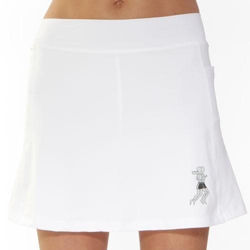 Athletic Skirt white