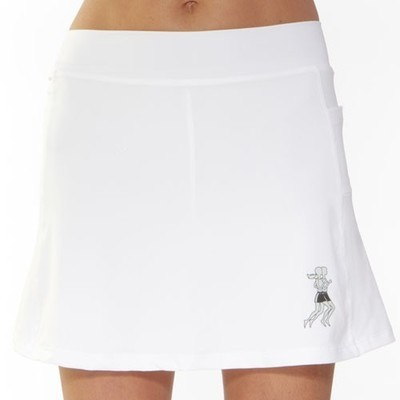 Athletic Skirt white