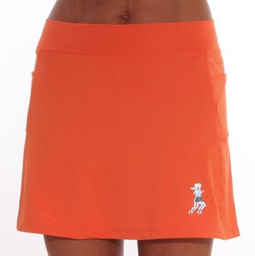 Ultra Swift Athletic Skirt orange