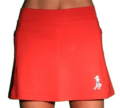 Ultra Swift Athletic Skirt red